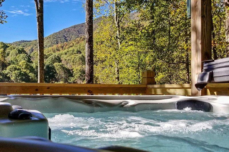 Private Deck | Hot Tub | Mountain Views