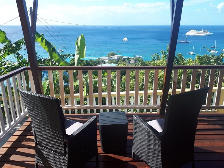 The Lookout - Hummingbird Deck Apartment, vacation rental in Lower Bay