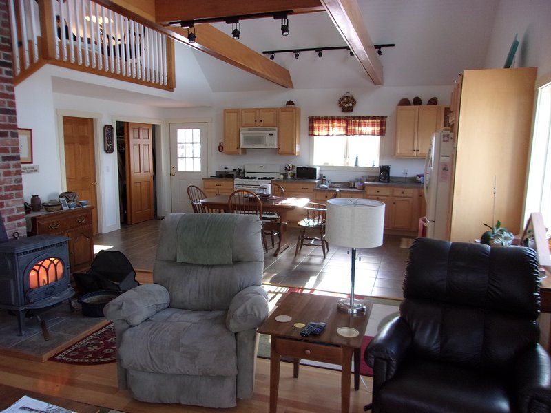 Waterfront home on St. George River, vacation rental in South Thomaston