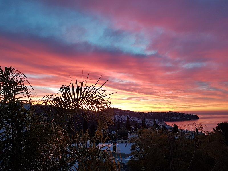 Vista de manhã cedo