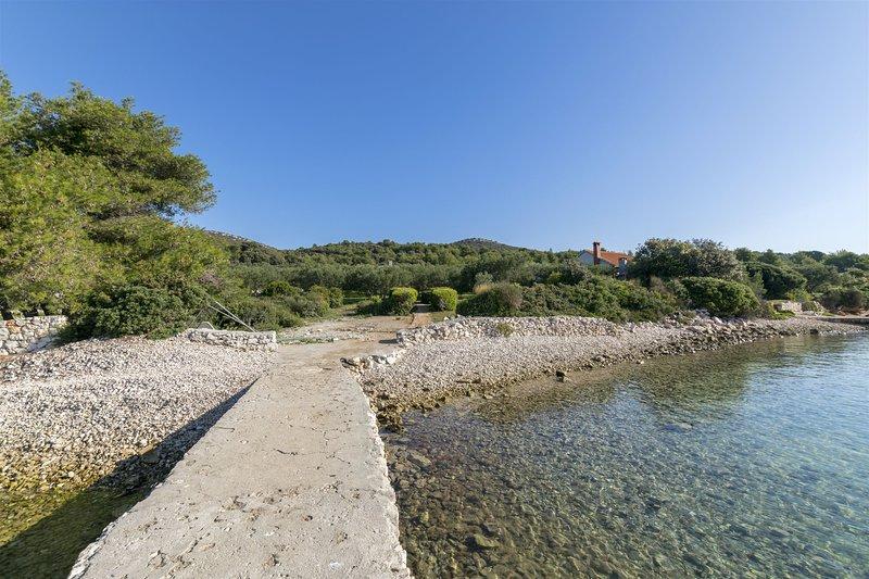 House OLIVA, holiday rental in Kornat Island