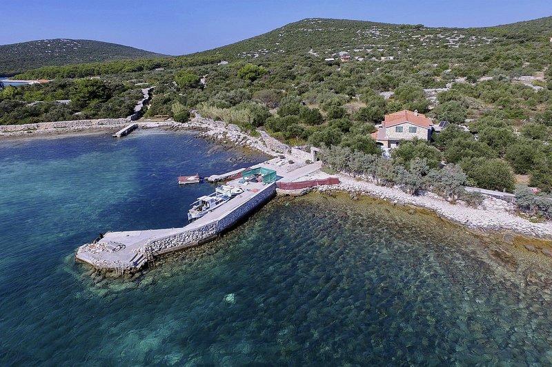 House Tinky, holiday rental in Kornat Island