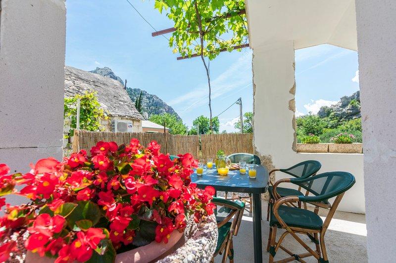 Apartment Petea, holiday rental in Naklice