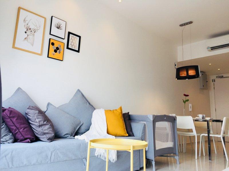 Bukit Bintang 2 Bedroom 2 bathrooms Luxurious Home For 6 pax., location de vacances à Kuala Lumpur