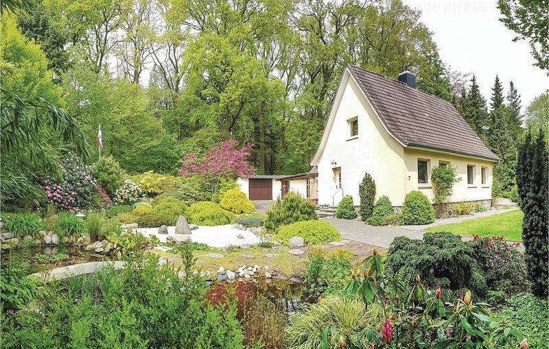 Stunning home in Brekendorf with 2 Bedrooms (DSH170), alquiler vacacional en Gross Wittensee