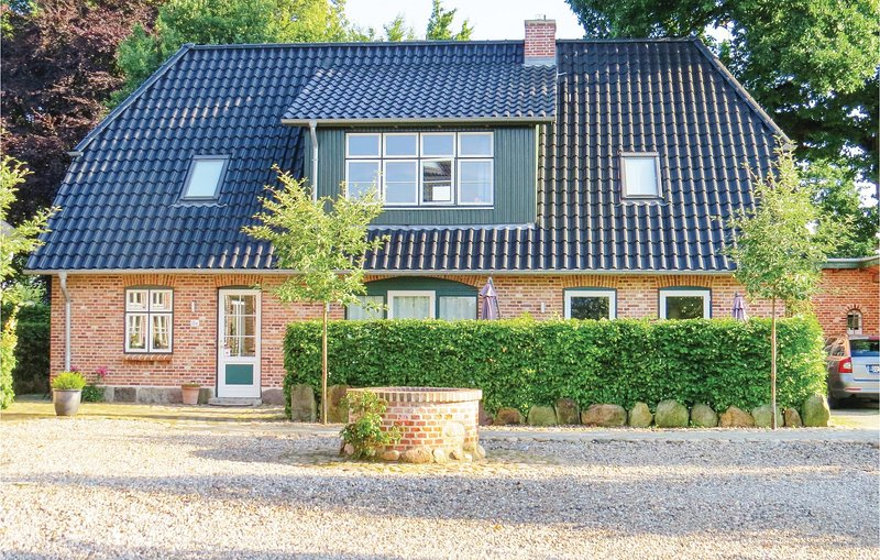 Nice home in Gammelby with Sauna, WiFi and 3 Bedrooms (DSH341), alquiler vacacional en Gross Wittensee