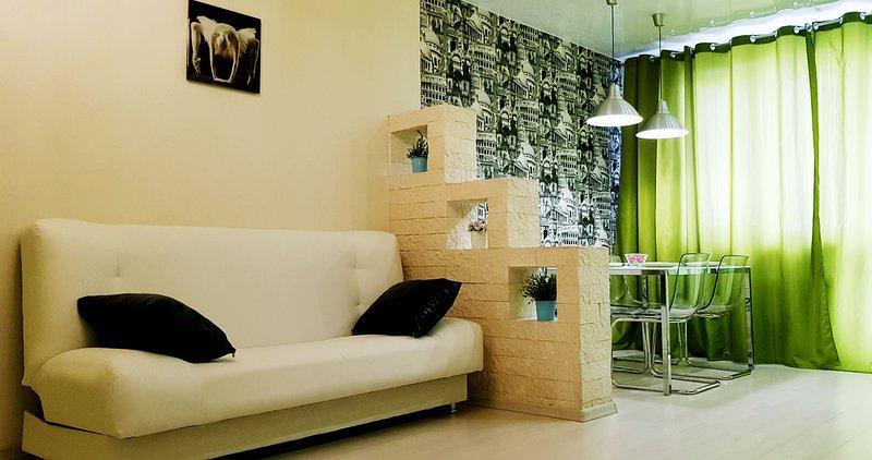 СТИЛЬНЫЕ Апартаменты 'MONRO', holiday rental in Berdsk