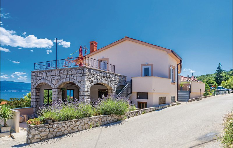 Awesome home in Vrbnik with WiFi and 1 Bedrooms (CKK917), holiday rental in Risika