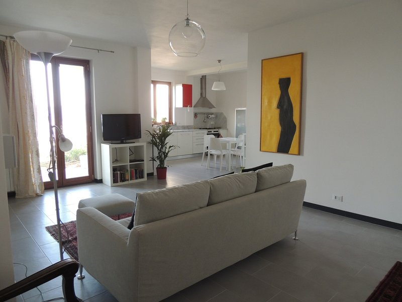 Vacanza in Villa con splendida vista mare vicino alle cinque terre., location de vacances à Vezzano Ligure