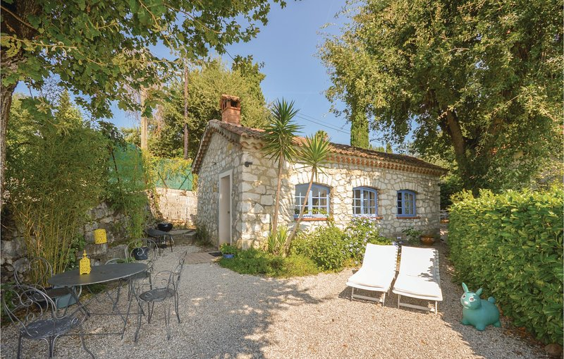 Awesome home in La Gaude with 1 Bedrooms (FCA434), holiday rental in La Gaude