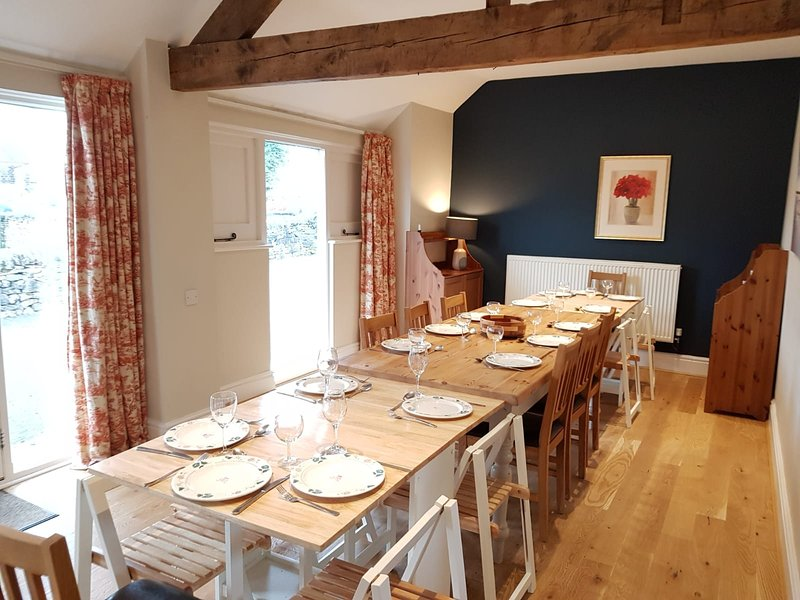Dining space for up to 16 guests!