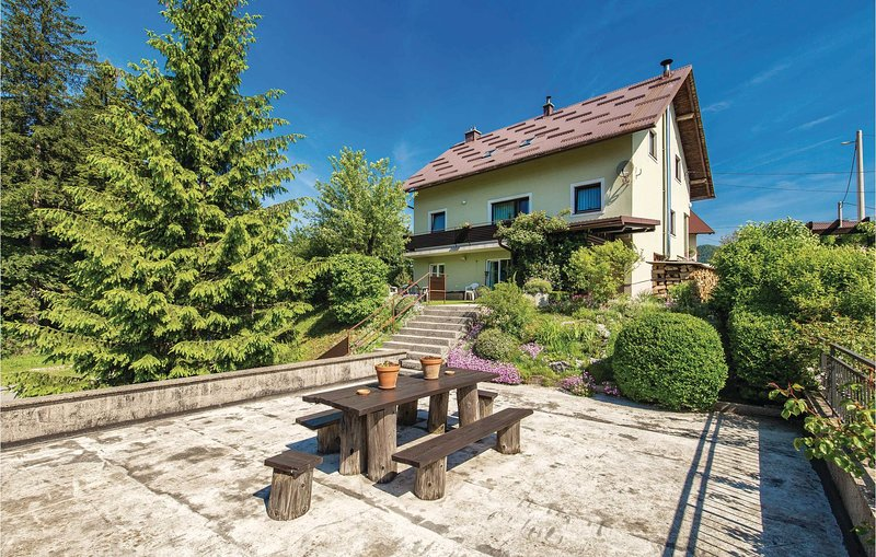 Amazing home in Delnice with WiFi and 1 Bedrooms (CKB251), vacation rental in Begovo Razdolje