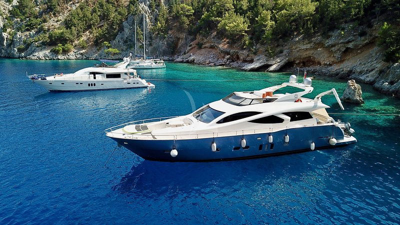 YACHT EVO MARINE 23M | CABINS 4| FOR CHARTER GREECE, vacation rental in Penteli