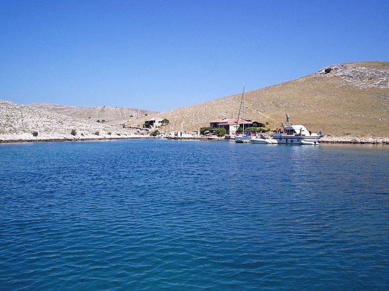 House Mandica, holiday rental in Kornat Island