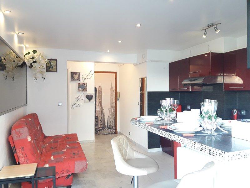 Holiday Juan-Les-Pins Apartment, holiday rental in Juan-les-Pins