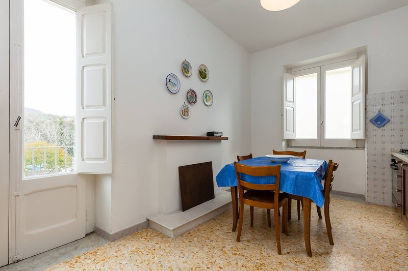 Big apartment with garden & balcony, vacation rental in Novi Velia
