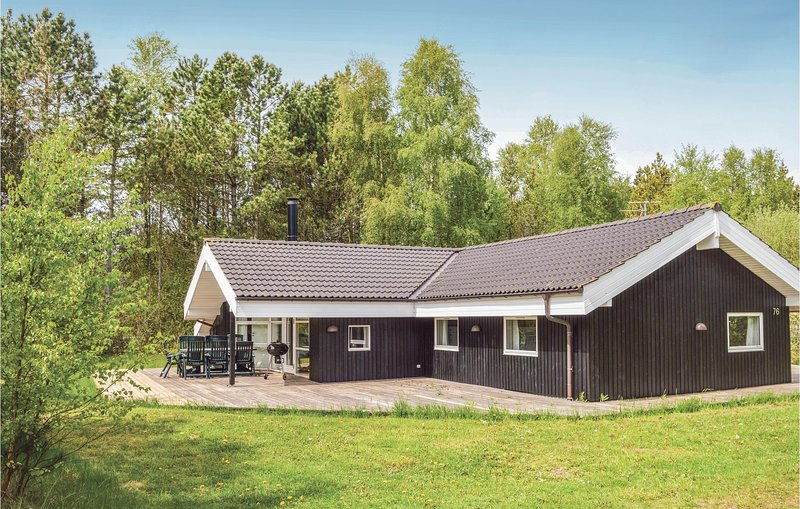 Amazing home in Ålbæk w/ Sauna, WiFi and 5 Bedrooms (A17924), holiday rental in Hulsig