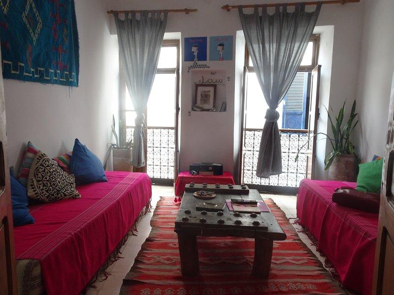 Quirky apartment withe sea views!!!, location de vacances à Essaouira