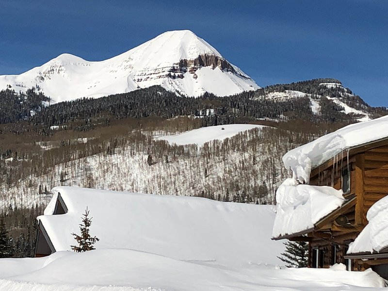 Engineer Mountain form Cascade Village