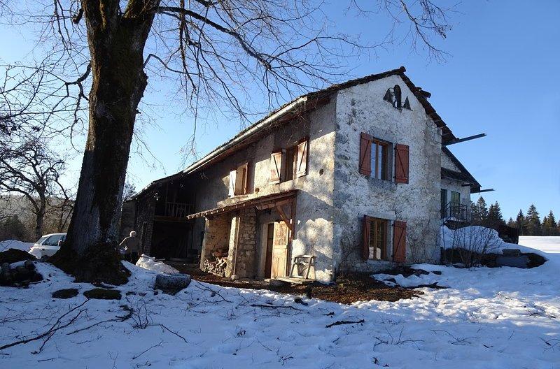 Ferme des tilleuls, holiday rental in Le Poizat