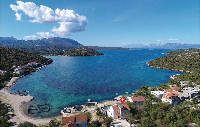 Awesome home in Luka Dubrava with WiFi and 3 Bedrooms (CDP325), holiday rental in Zuljana