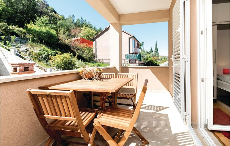 Awesome home in Blace with WiFi and 1 Bedrooms (CDR172), casa vacanza a Opuzen
