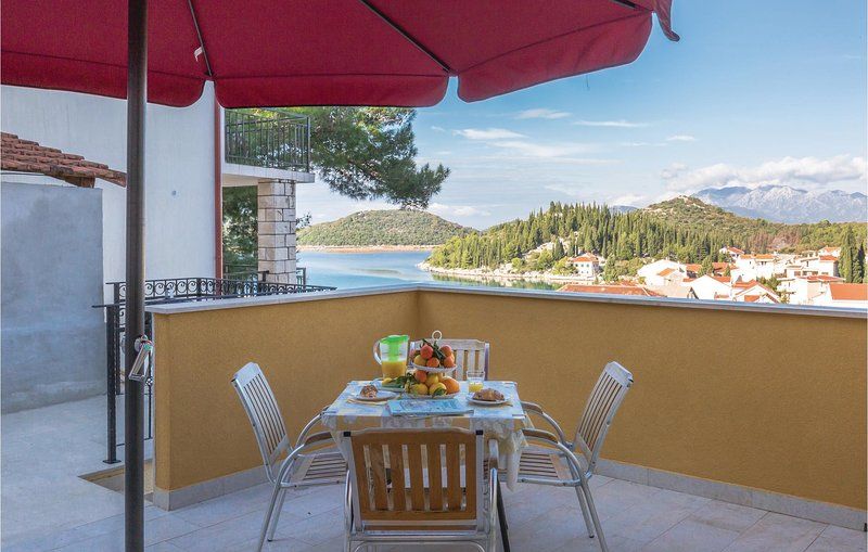 Awesome home in Ploce with WiFi and 1 Bedrooms (CDR422), casa vacanza a Opuzen