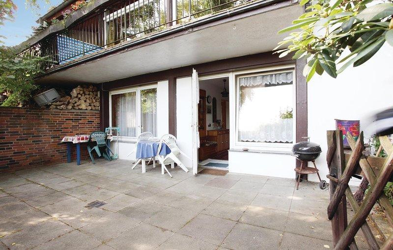 Beautiful home in Hessisch Oldendorf with WiFi and 1 Bedrooms (DWE003), Ferienwohnung in Bad Eilsen