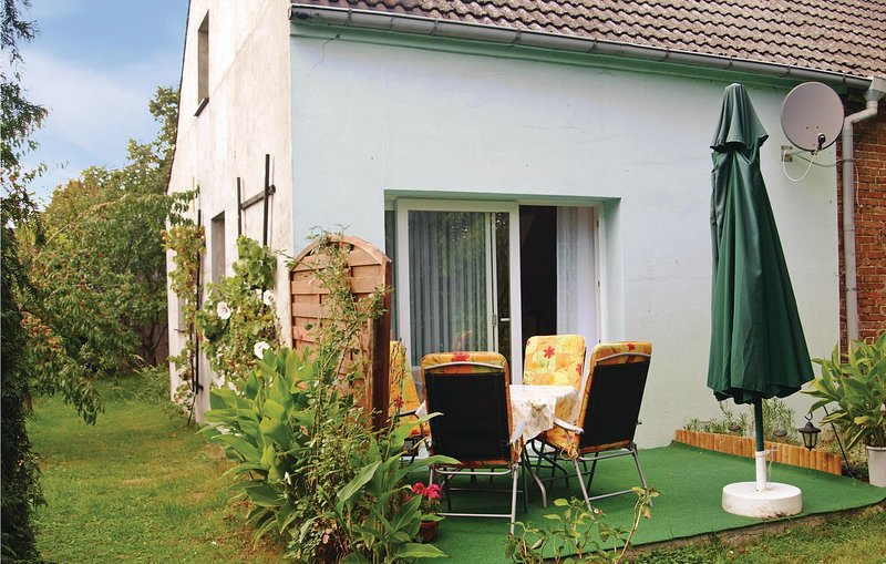 Stunning home in Templin with 1 Bedrooms (DBB346), holiday rental in Gerswalde
