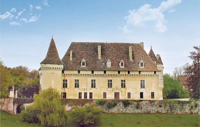 Indrukwekkend kasteel op groot landgoed (FAD119), holiday rental in Clermont de Beauregard