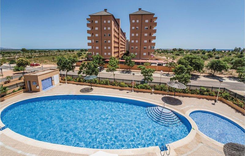 Amazing home in Cabanes with 2 Bedrooms (EBA051), alquiler de vacaciones en Cabanes