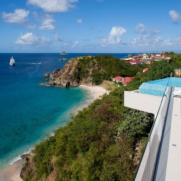 Villa Vitti | Ocean Front - Located in Exquisite Shell Beach with Private Pool, holiday rental in Gustavia