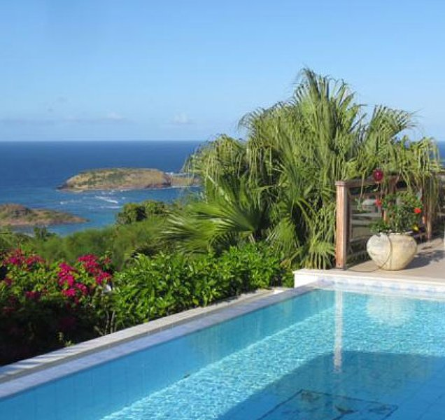 Villa Maracuja | Ocean View - Located in Exquisite Vitet with Private Pool, aluguéis de temporada em Toiny
