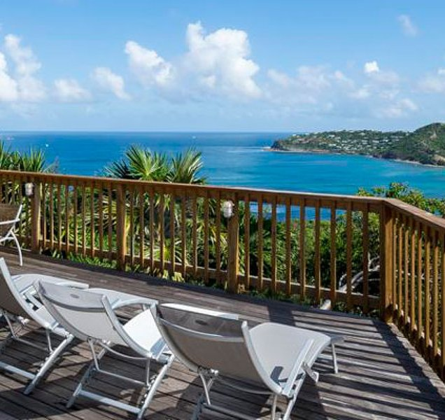 Villa Idalia | Ocean View - Located in Beautiful Saint Jean with House Cleanin, holiday rental in St. Jean