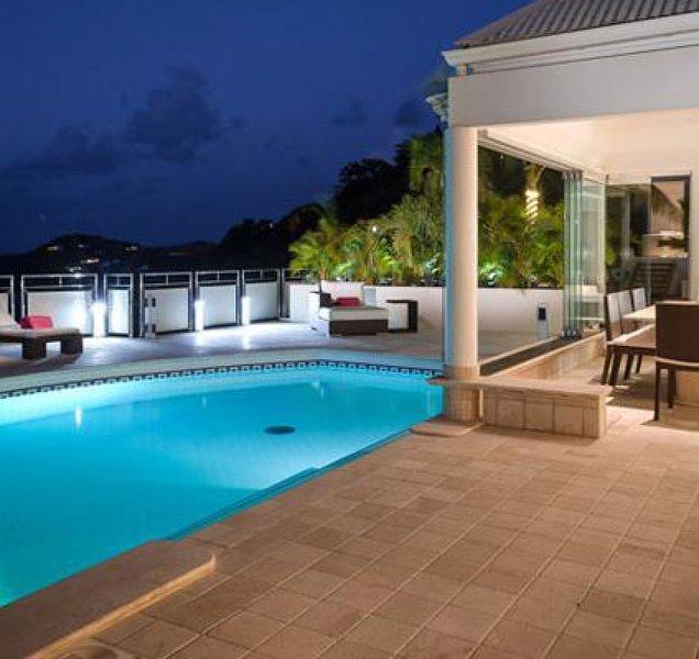 Villa La Rose Des Vents | Ocean View - Located in Fabulous Grand Cul de Sac wi – semesterbostad i Grand Cul-de-Sac