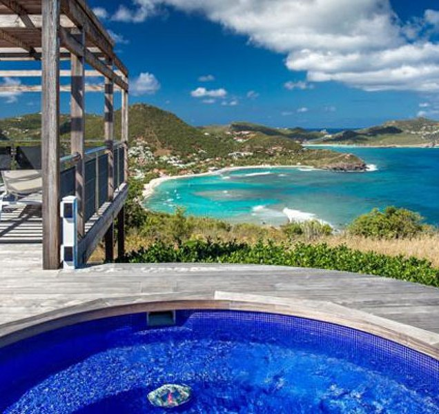Villa Yellow Bird | Ocean View - Located in Fabulous Pointe Milou with Private, holiday rental in Pointe Milou