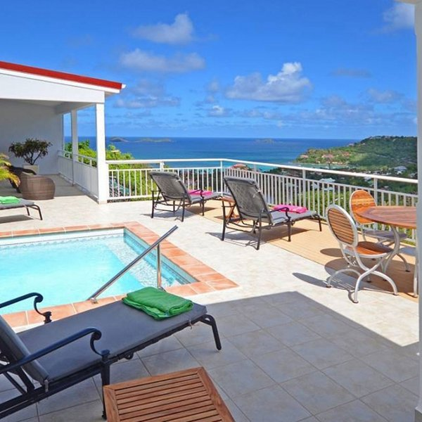 Villa Bonjour | Ocean View - Located in Beautiful Saint Jean with Private Pool, holiday rental in St. Jean