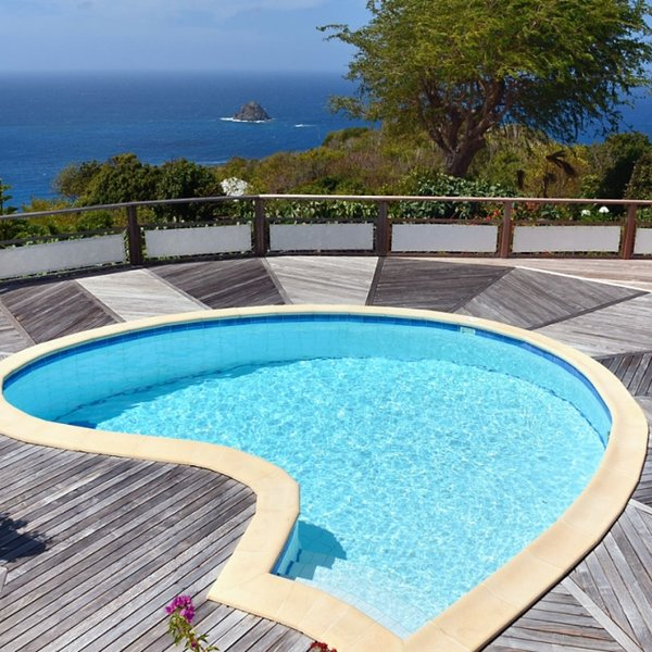 Villa Taniko | Ocean View - Located in Stunning Colombier with Private Pool, location de vacances à Anse des Flamands