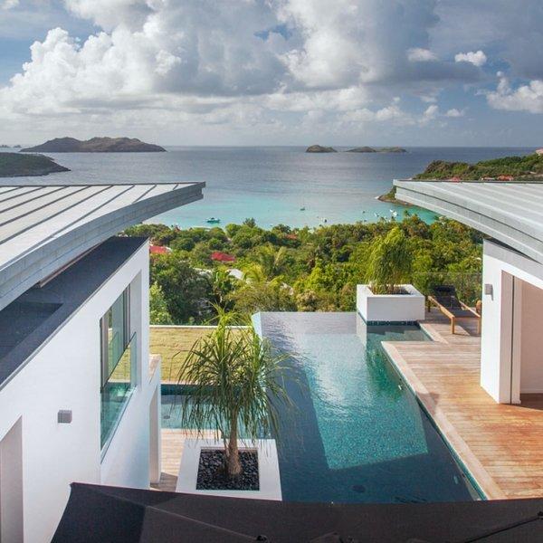 Villa Wings | Ocean View - Located in Magnificent Saint Jean with Private Pool, alquiler de vacaciones en Saint-Jean