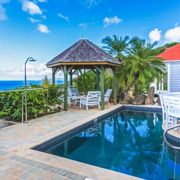 Villa Grain De Folie | Ocean View - Located in Fabulous Colombier with Private, vacation rental in Anse des Flamands