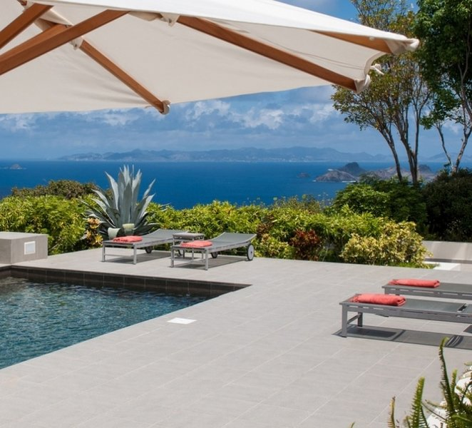 Villa Belle Bague | Ocean View - Located in Exquisite Colombier with Private P, holiday rental in Anse des Flamands