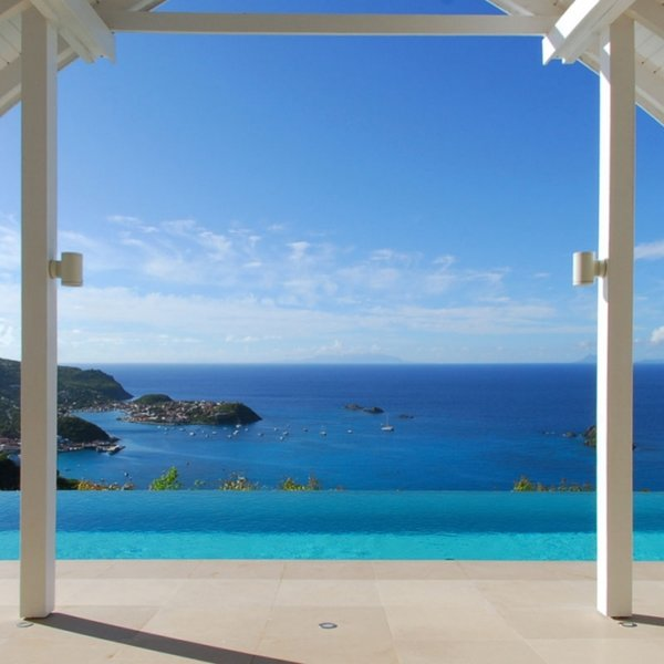 Villa The View | Ocean View - Located in Stunning Colombier with Private Pool, location de vacances à Anse des Flamands