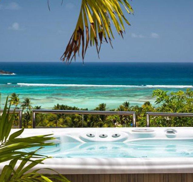 Villa La Rose Des Vents | Ocean View - Located in Beautiful Grand Cul de Sac wi – semesterbostad i Grand Cul-de-Sac