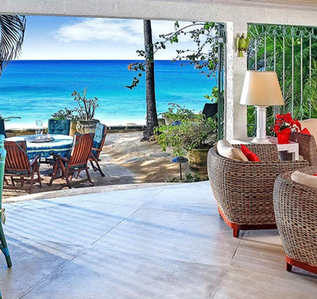 Villa Seascape | Beach Front - Located in Wonderful Gibbs Beach with Private C, holiday rental in Gibbes