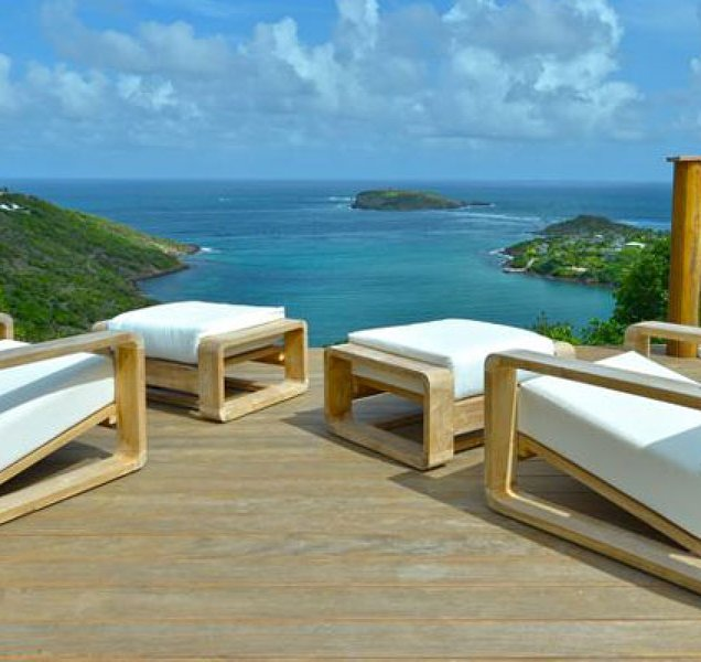Villa Bel Ombre | Ocean View - Located in Tropical Marigot with Private Pool, vakantiewoning in Marigot