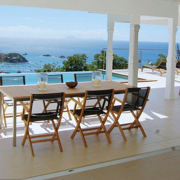 Villa Cactus | Ocean View - Located in Exquisite Colombier with Private Pool, alquiler de vacaciones en Anse des Cayes