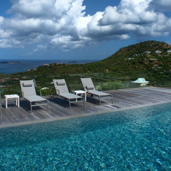 Villa Wine Note   Ocean View - Located in Fabulous Saint Jean with Private Poo, vacation rental in St. Jean