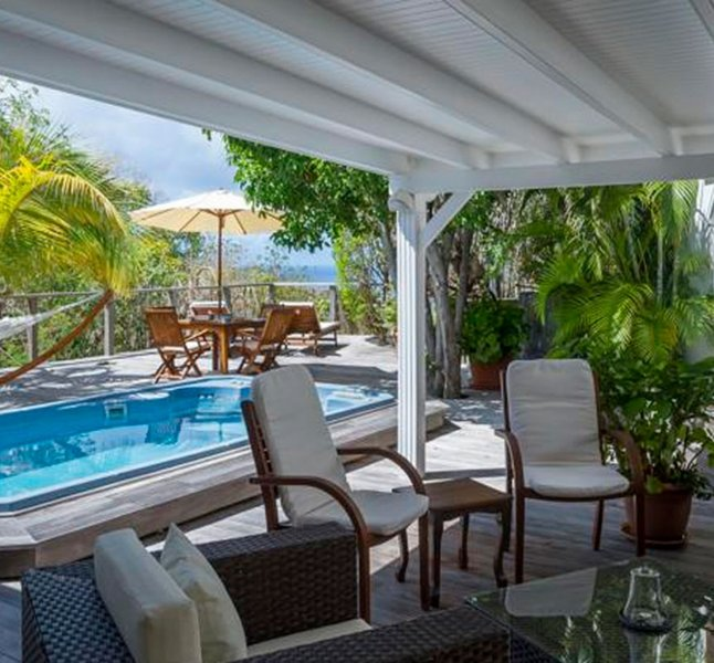 Villa Letchi | Ocean View - Located in Exquisite Lurin with House Cleaning Inc, vacation rental in Gustavia