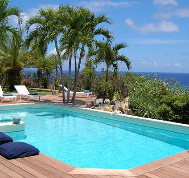 Villa Green Cay | Ocean View - Located in Wonderful Marigot with Private Pool, location de vacances à Marigot