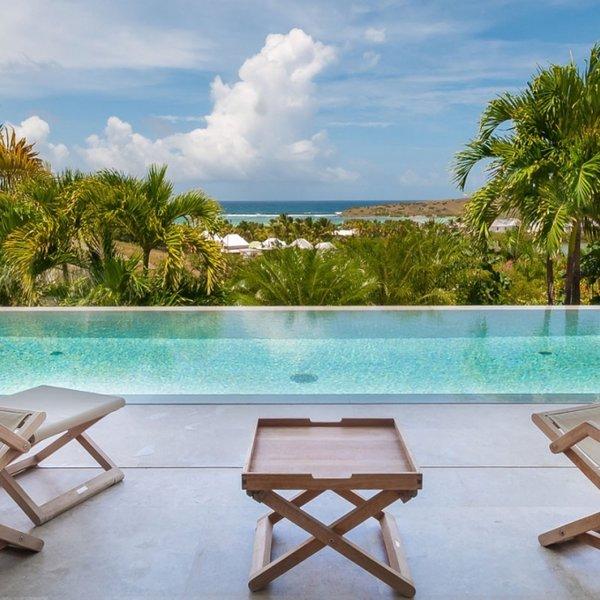 Villa Palm | Ocean View - Located in Tropical Grand Cul de Sac with Private Poo, alquiler vacacional en Grand Cul-de-Sac